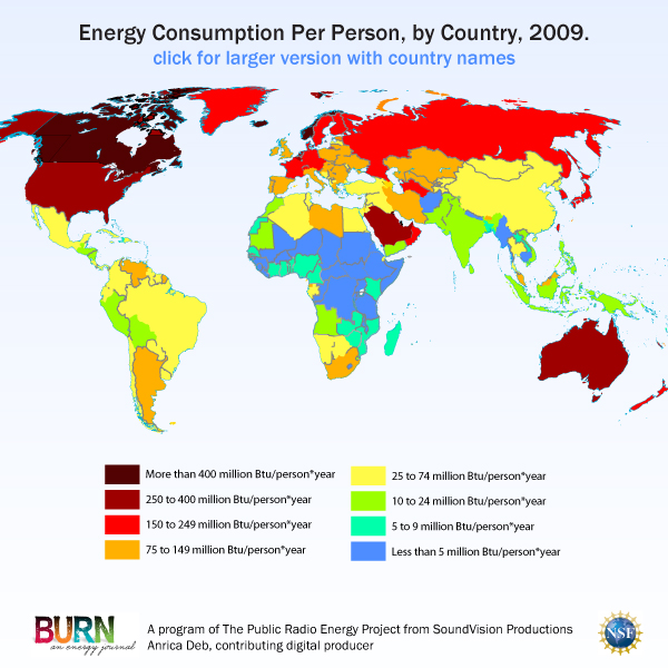 Map how much energy is the world using gumiabroncs Choice Image