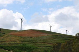 sicily windmills