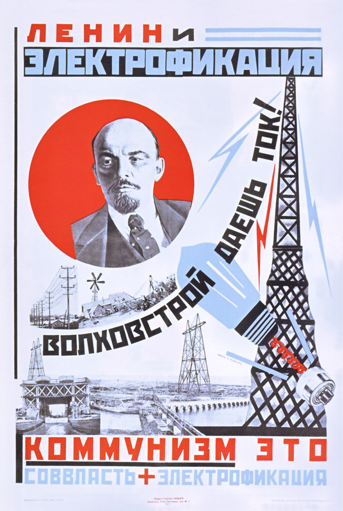 Lenin and electrification