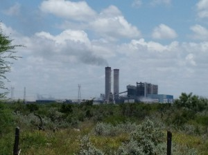 The Carbon II coal-fired power plant in Nava, Mexico, where coal from a new mine in Eagle Pass, Texas will be burned. (photo: Ingrid Lobet)